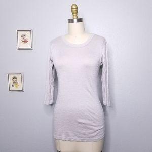 Michael stars 3/4 sleeve tshirt